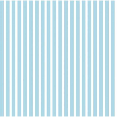 papel pintado Rayas azul cielo y blanco