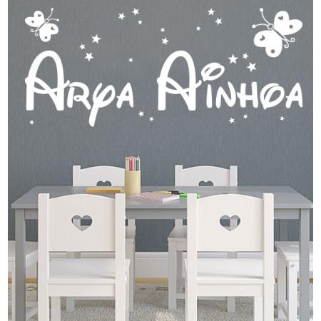 vinilos nombres Arya Ainhoa