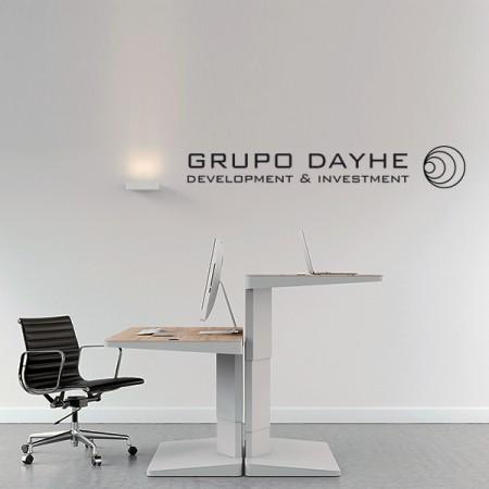 vinilos con Logo empresa Dayhe