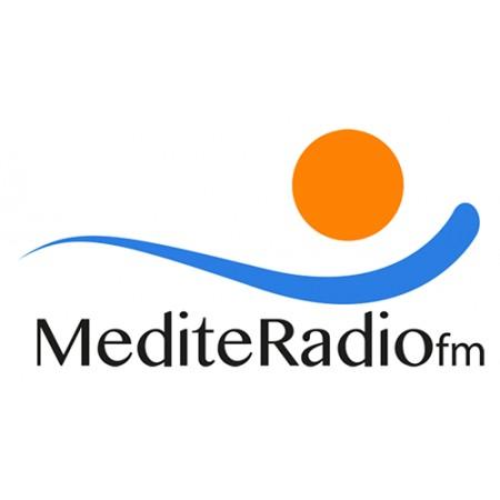 Vinilo Logo MediteRadio FM