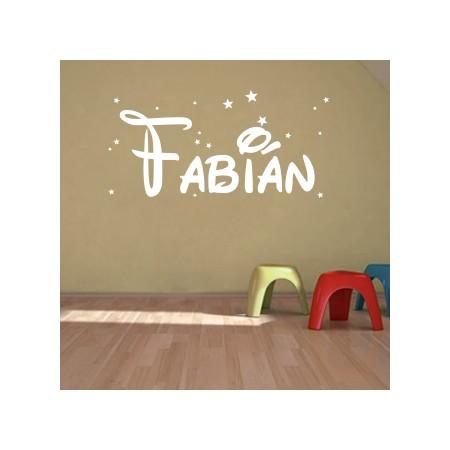Vinilo nombre Fabián