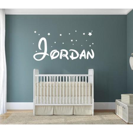 Vinilo nombre Jordan