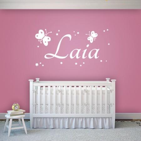 Vinilo nombre Laia