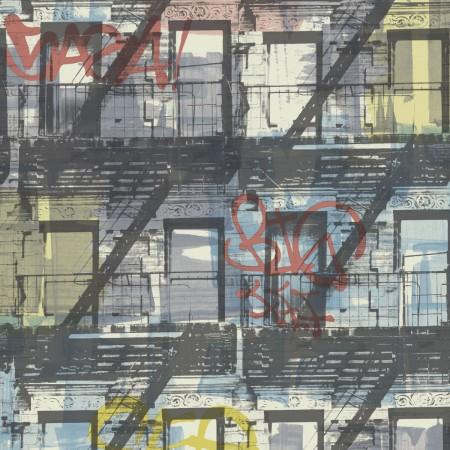 Ejemplo foto ambiente Papel Pintado Edificio