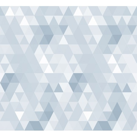 Papel Pintado Infantil Abracadabra triángulos azules