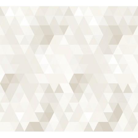 Papel Pintado Infantil Abracadabra triángulos beige