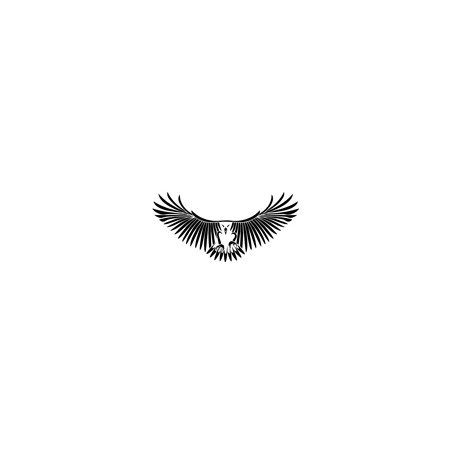 vinilos decorativos Aguila moto