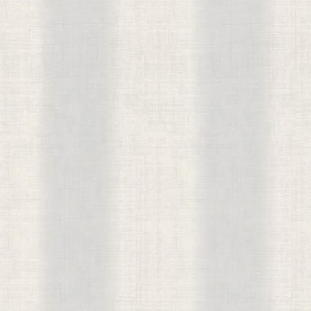 Papel pintado vinílico imitación textura Lino blanco rayas