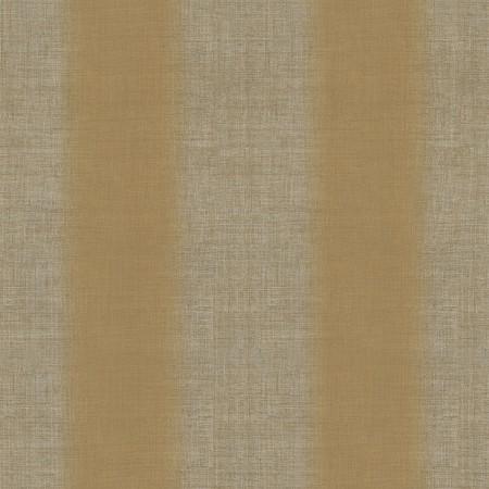 Papel pintado vinílico textura imitación Lino rayas marrones
