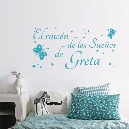 Vinilos El Rincón de los Sueños de Greta