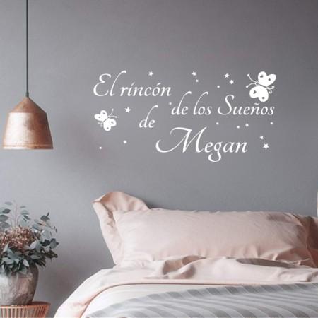 Vinilos El Rincón de los Sueños de Megan