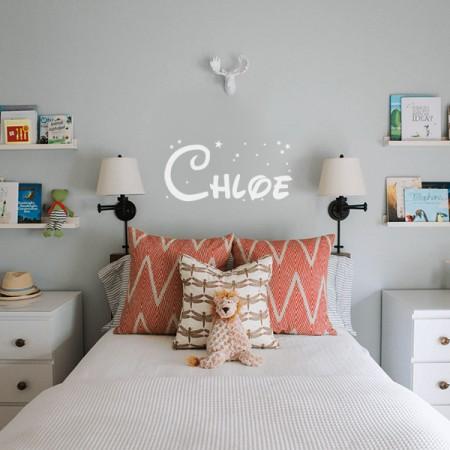 Vinilo nombre Chloe