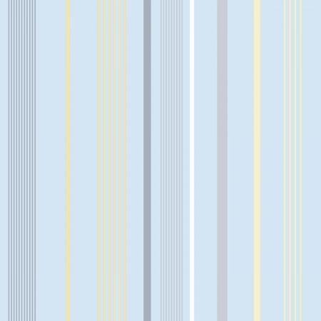 Papeles pintados de Diseño de rayas de diferentes grosores tonos azules