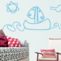 vinilos decorativos Barcos Infantiles