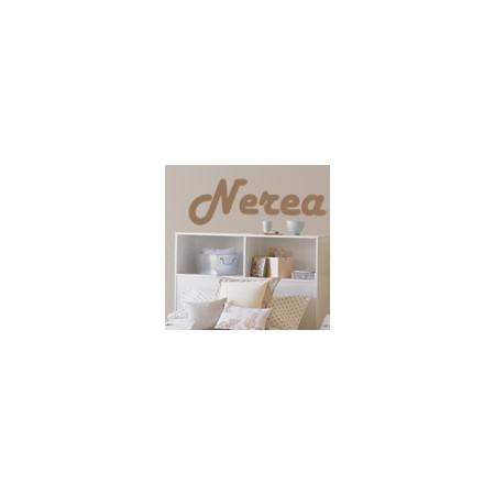 vinilos decorativos nombre Nerea