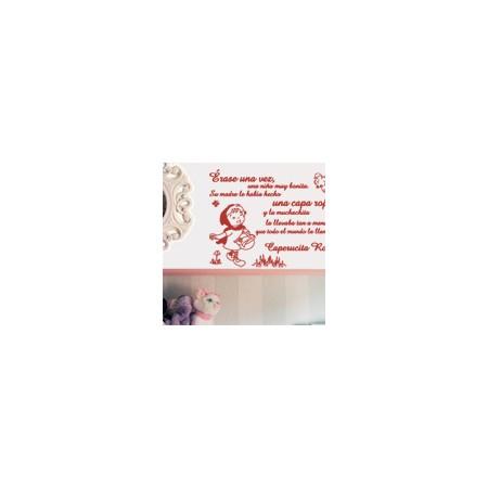 vinilos decorativos Caperucita Roja