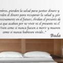 vinilos decorativos frase Buda