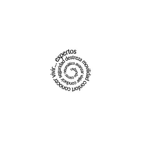 vinilos personalizados Texto Espiral