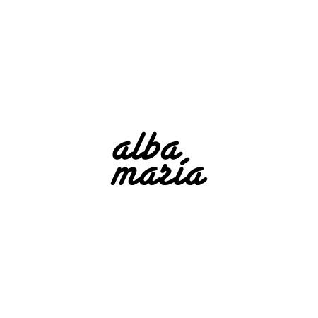 vinilos decorativos Nombres Alba y Maria