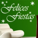 Vinilos Felices Fiestas