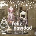 vinilos decorativos escaparates navidad