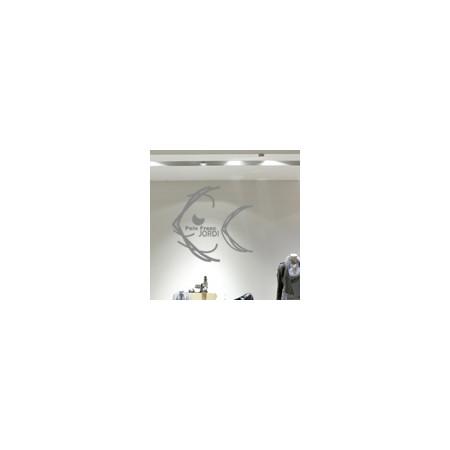 vinilos decorativos Logo en escaparates