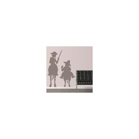 vinilos decorativos Quijote