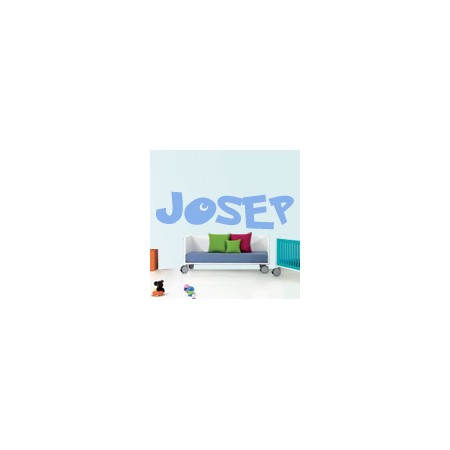 vinilos decorativos Nombres Josep