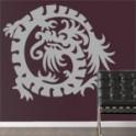 vinilos decorativos Dragones Orientales