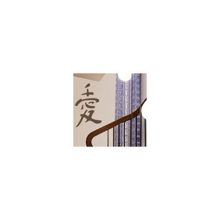 vinilos decorativos orientales Letra china