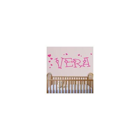 vinilos decorativos Nombre Vera