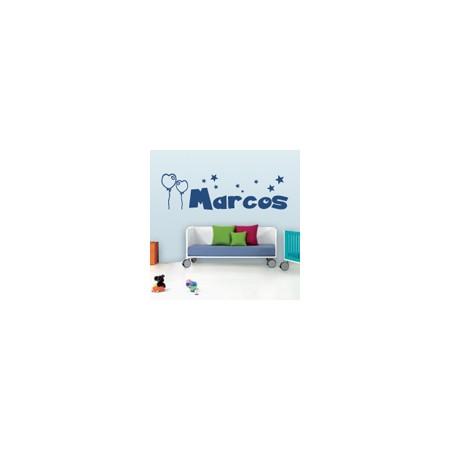 vinilos decorativos Nombre Marcos