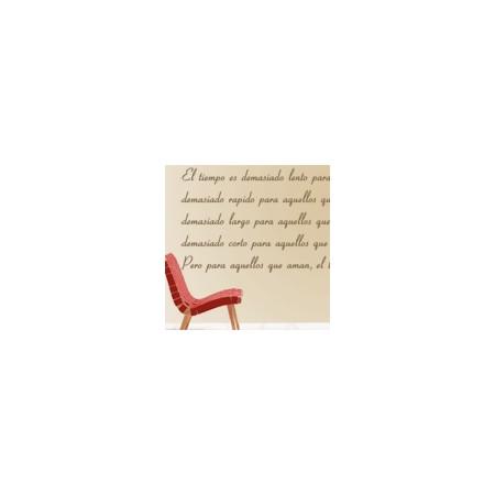 vinilos decorativos Texto Poema