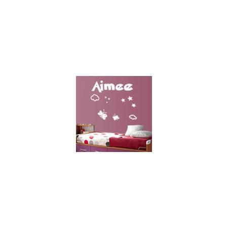 vinilos nombres Aimee