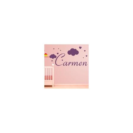 vinilos decorativos Nombre - Carmen (II)