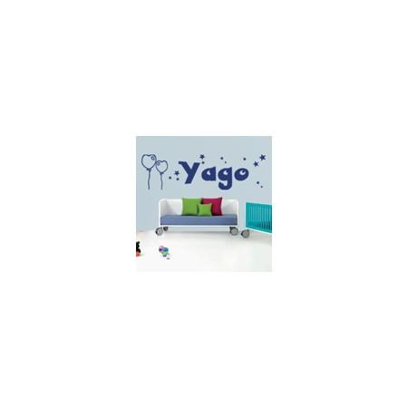 vinilos con Nombre Yago