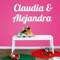 Claudia & Alejandra