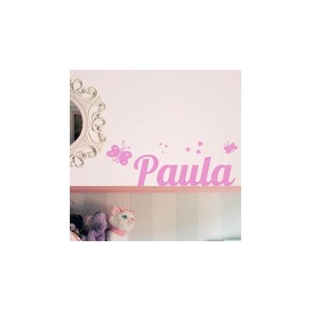 vinilos Nombres Paula