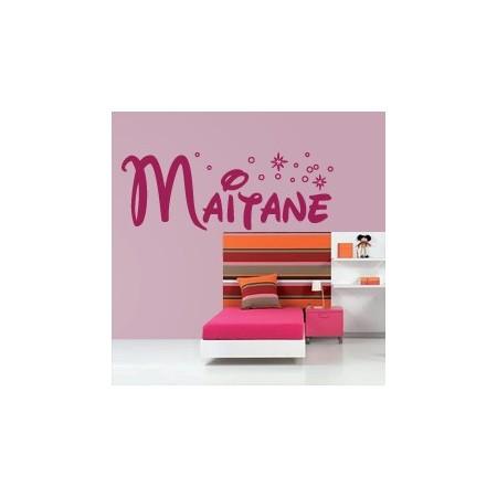 vinilos decorativos Nombre Maitane