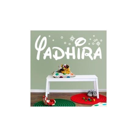 vinilos decorativos Nombre Yadhira