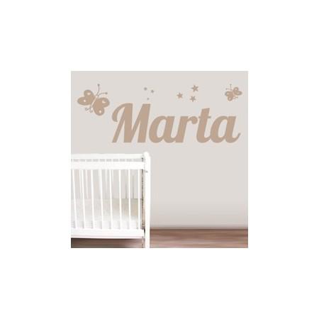 Vinilos Nombre Marta