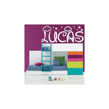 vinilos decorativos Nombre Lucas