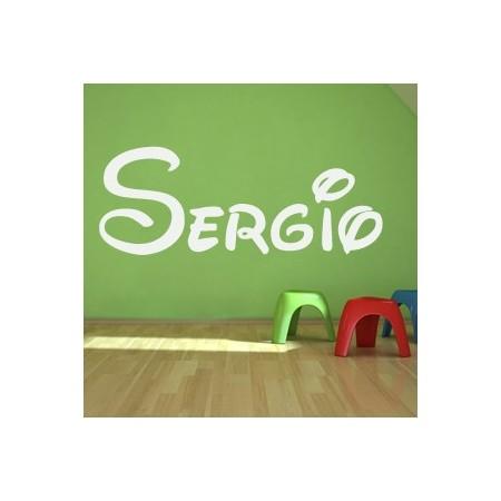 vinilos decorativos Nombres - Sergio
