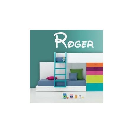 vinilos Nombres Roger