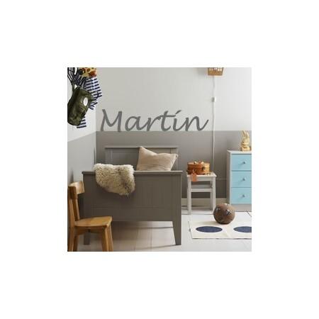 vinilos infantiles Nombres Martín