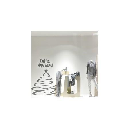 vinilos decorativos Arbol Navidad