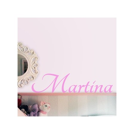 vinilos con Nombres: Martina