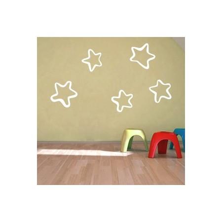 vinilos infantiles de estrellas