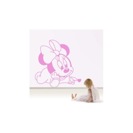 vinilos decorativos infantiles Minnie
