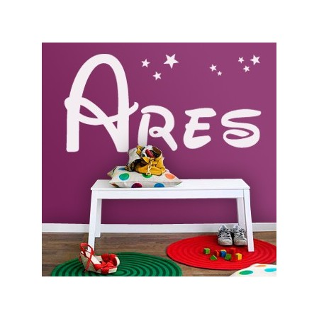 Vinlos decorativos Nombre Ares